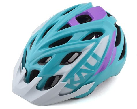 Kali Chakra Youth Snap Helmet (Gloss Teal/Purple)