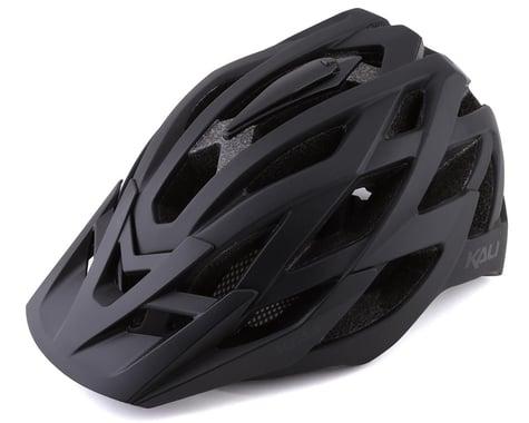 Kali Lunati Helmet (Solid Matte Black/Black) (S/M)