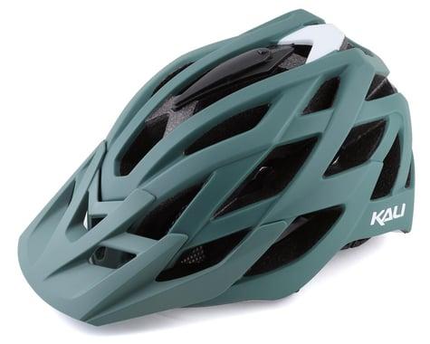 Kali Lunati Helmet (Solid Matte Moss/White) (L/XL)