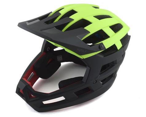 Kali Invader Helmet (Solid Matte Fluo Yellow) (L/2XL)