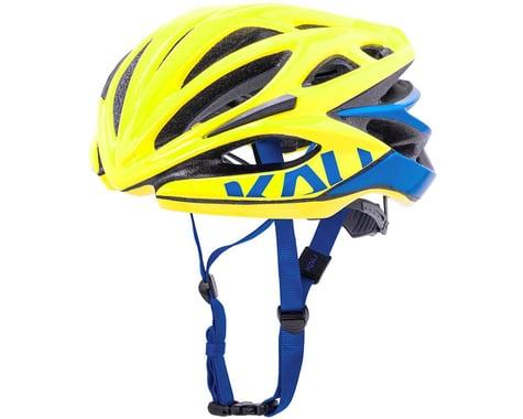 Kali Loka Valor Helmet (Yellow/Blue)
