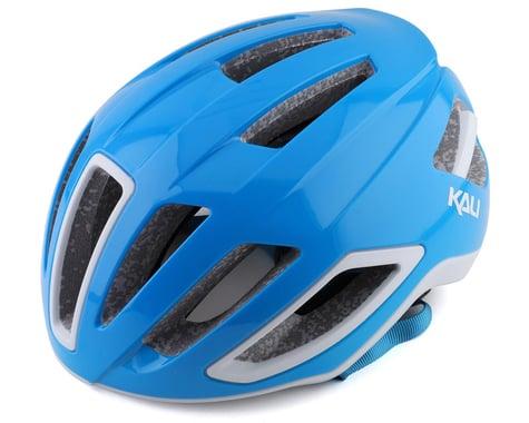 Kali Uno Road Helmet (Solid Gloss Blue/White) (L/XL)