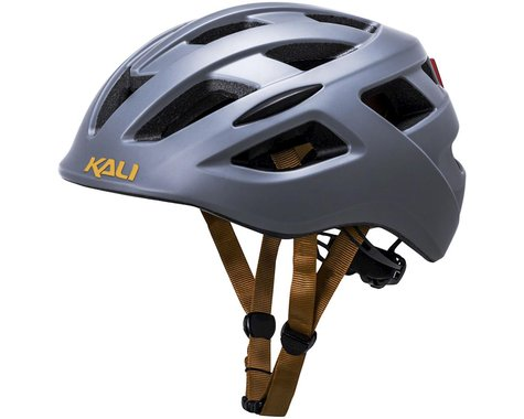 Kali Central Helmet (Solid Matte Grey) (Built-In Light) (S/M)