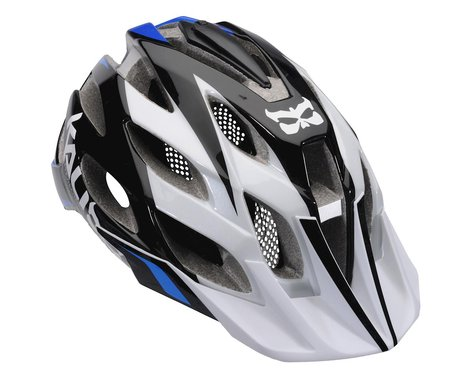 Kali Amara Paramount Helmet (White Blue) (Medium / Large)