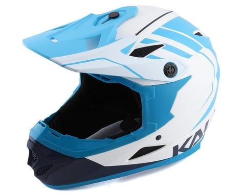 Kali Zoka Eon Full Face Helmet (White/Blue/Navy)