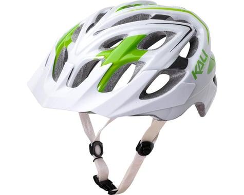 Kali Chakra Plus Helmet (Sonic White/Green)