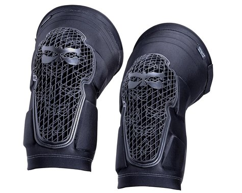 Kali Strike Knee Guards (Black/Grey) (Pair) (L)