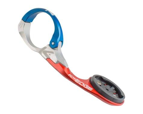 K-Edge Garmin Race Handlebar Mount (Blue/Red/Silver) (31.8mm)