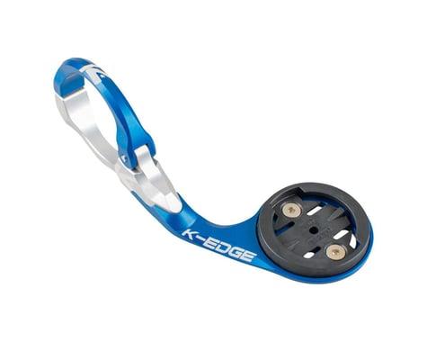 K-Edge Garmin Race Handlebar Mount (Blue/Silver) (31.8mm)
