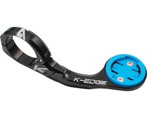 K-EDGE Wahoo Bolt Combo Handlebar Mount, 31.8mm, Black