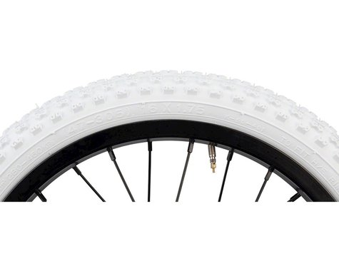 "Kenda K50 Tire 16x1.75"" Steel Bead White"