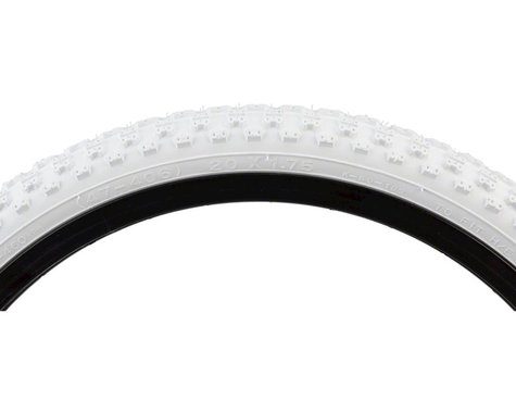 Kenda K50 Tire - 20 x 1.75, Clincher, Wire, White