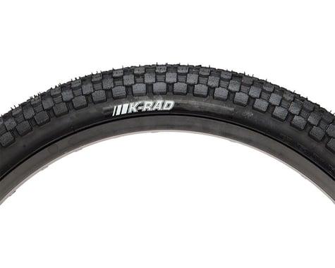 Kenda K-Rad Tire - 24 x 1.95, Clincher, Steel, Black, 60tpi