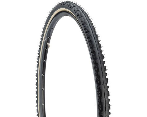 Kenda Kross Plus Tire - 700 x 38, Clincher, Wire, Black/Tan, 30tpi