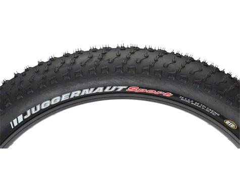 Kenda Juggernaut Tire - 26 x 4.5, Clincher, Wire, Black, 60tpi