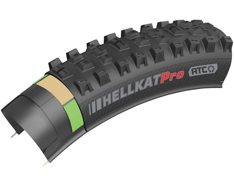 "Kenda Hellkat Pro Tubeless Mountain Tire (Black) (29"") (2.4"")"