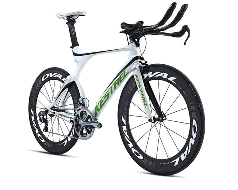 Kestrel 4000 LTD Triathlon Road Bike - 2013 Dura-Ace Di2 (White) (50)