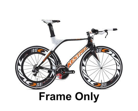 Kestrel 4000 LTD Triathlon Frameset - 2012 (Orange/Black) (59)