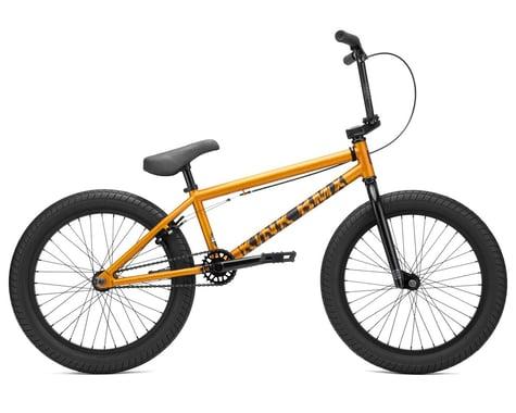 """Kink 2021 Curb BMX Bike (20"""" Toptube) (Matte Orange Flake)"""