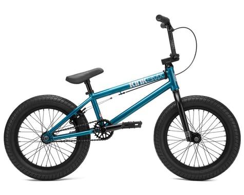 """Kink 2021 Carve 16"""" BMX Bike (16.5"""" Toptube) (Digital Teal)"""