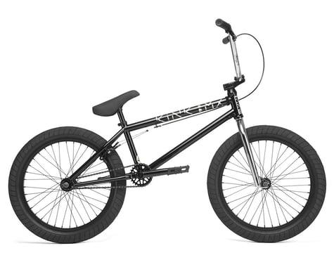 """Kink 2020 Launch 20.25"""" BMX Bike (20.25"""" Toptube) (Gloss Guinness Black)"""