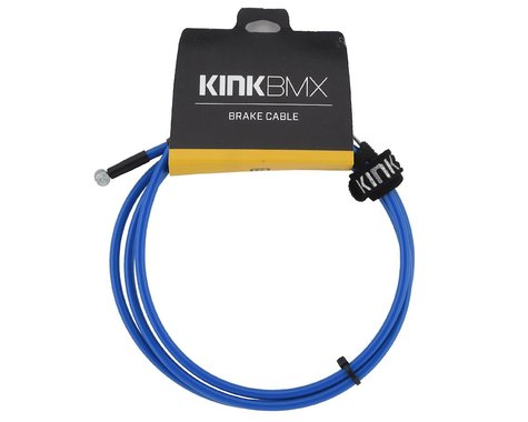Kink Linear Brake Cable (Blue)