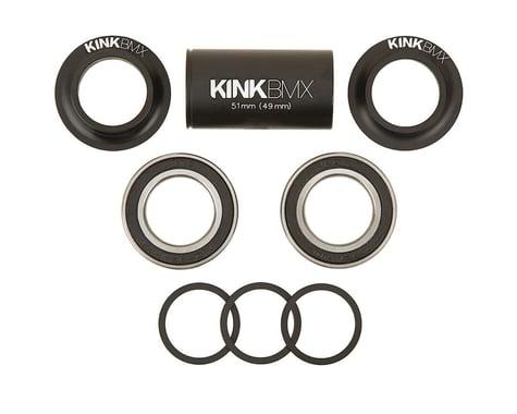 Kink Mid Bottom Bracket Kit (Matte Black) (24mm)