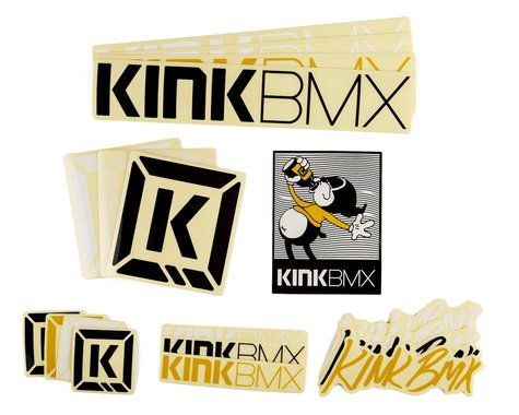 Kink Assorted Sticker Pack