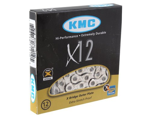 KMC X12 Chain (Silver) (12 Speed) (126 Links)