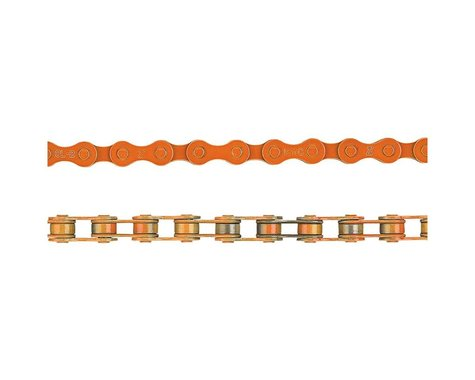 "KMC Z410 Chain (Orange) (112 Links) (1/8"")"