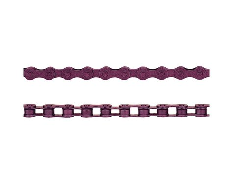 "KMC Z410 Chain (Purple) (112 Links) (1/8"")"