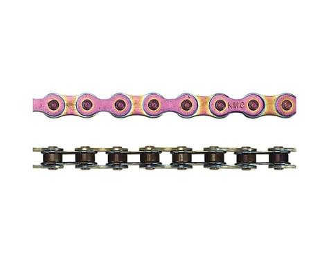 """KMC Z610HX Heavy Duty Chain - Single Speed 3/32""""  , 112 Links, Neo Chrome"""