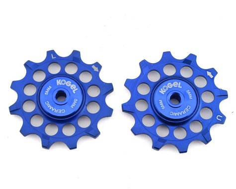 Kogel Bearings Narrow-Wide Pulleys w/ Road Seals (Blue) (12T)