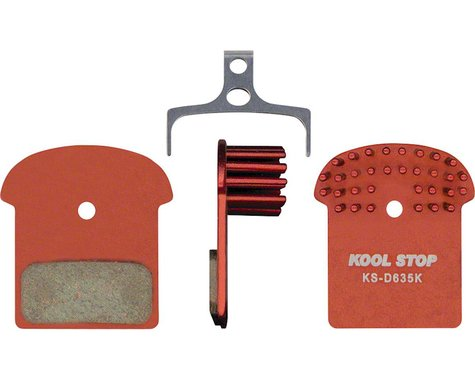 Kool Stop Disc Brake Pads (Shimano XTR/XT/SLX/Alfine/Deore) (Organic/Semi-Metal)