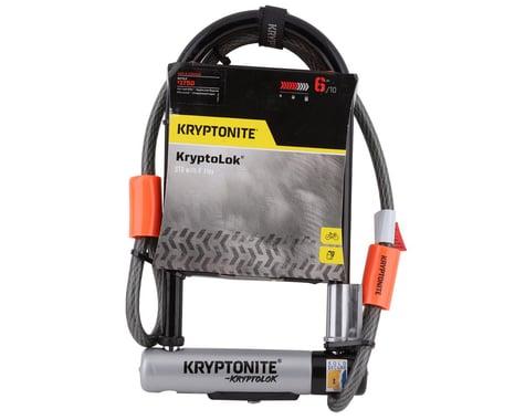 SCRATCH & DENT: Kryptonite KryptoLok STD U-Lock with 4' Flex Cable and Bracket