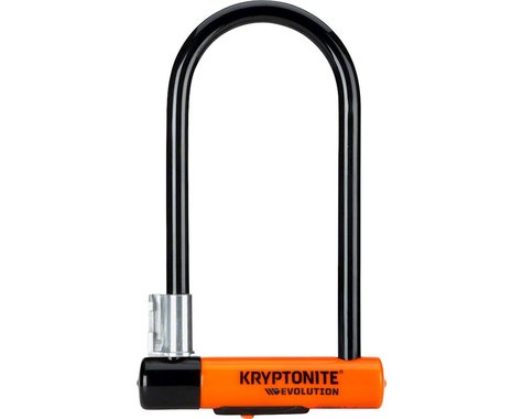 "Kryptonite Evolution Series U-Lock Keyed (4 x 9"") (Black)"