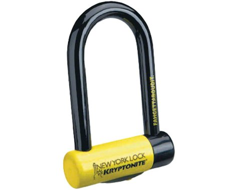 "Kryptonite New York Fahgettaboudit Mini U-Lock (3.25 x 6"")"