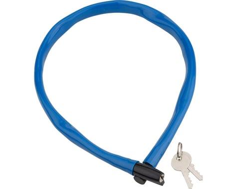 Kryptonite Keeper 665 Cable Lock w/ Key (Blue) (2.13' x 6mm)