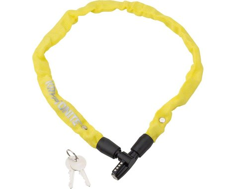 Kryptonite Keeper 465 Chain Lock w/ Key (Yellow) (2.13' x 4mm)