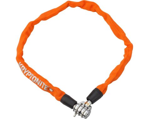 Kryptonite Keeper 465 Chain Lock w/ 3-Digit Combo (Orange) (2.13' x 4mm)