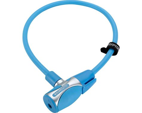 Kryptonite KryptoFlex 1265 Cable Lock w/ Key (Medium Blue) (2.12' x 12mm)