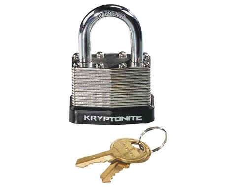 Kryptonite Laminated Steel Padlock w/ Flat Key