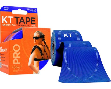 Kt Tape Pro Kinesiology Therapeutic Body Tape (Sonic Blue) (20 Strips/Roll)