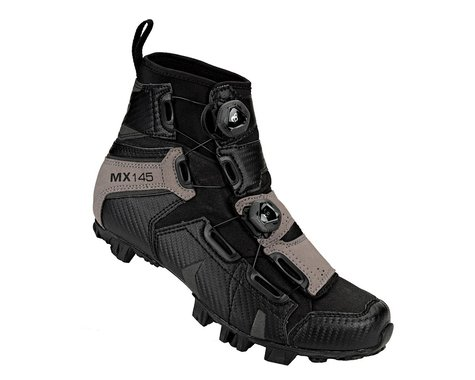 Lake Mx145 Wide Winter Mtb Shoe (Black)