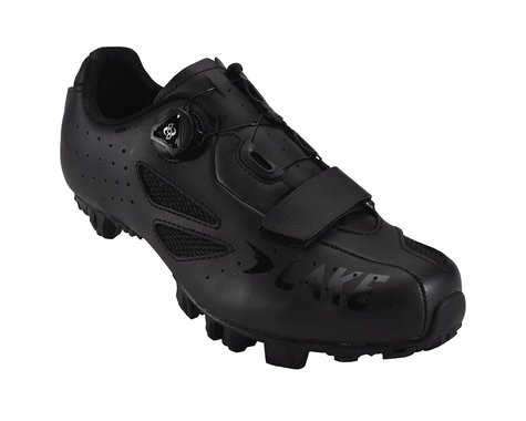 Lake MX176 Wide Mountain Shoes (Black)