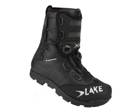 Lake MXZ400 Winter Mountain Shoes (Black/Grey)
