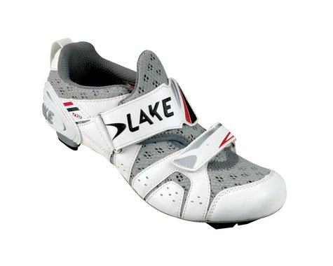 Lake TX212 Triathlon Road Shoes (White)