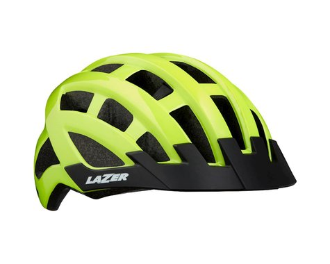 Lazer Compact Helmet (Flash Yellow) (Universal Adult)
