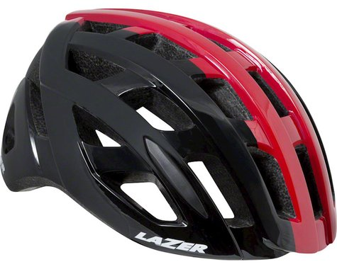 Lazer Tonic Helmet: Black/Red SM