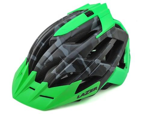 Lazer Oasiz Professional MTB Helmet (Matte Black Camo/Flash Green)
